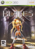 X-Blades Xbox 360 Front Cover