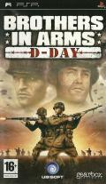 Brothers in Arms: D-Day PSP Front Cover