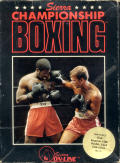 Sierra Championship Boxing PC Booter Front Cover