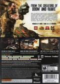 Rage (Anarchy Edition) Xbox 360 Back Cover