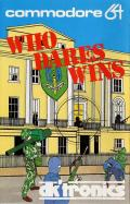 Who Dares Wins Commodore 64 Front Cover