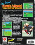 Greg Norman's Shark Attack! The Ultimate Golf Simulator DOS Back Cover