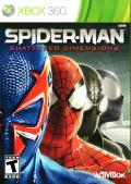 Spider-Man: Shattered Dimensions Xbox 360 Front Cover