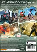 Spider-Man: Shattered Dimensions Xbox 360 Back Cover