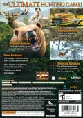 Cabela's Big Game Hunter 2012 (With Top Shot Elite) Xbox 360 Other Keep Case - Back