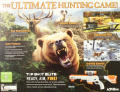 Cabela's Big Game Hunter 2012 (With Top Shot Elite) Xbox 360 Back Cover