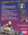 Leisure Suit Larry 1:  In the Land of the Lounge Lizards DOS Back Cover
