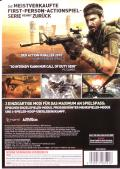 Call of Duty: Black Ops Windows Back Cover