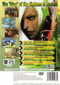 The King of Fighters XI PlayStation 2 Back Cover