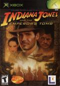 Indiana Jones and the Emperor's Tomb Xbox Front Cover