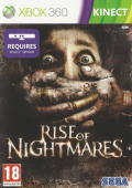 Rise of Nightmares Xbox 360 Front Cover