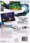Disney Epic Mickey Wii Back Cover