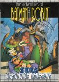 The Adventures of Batman & Robin Game Gear Front Cover