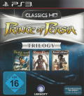 Prince of Persia Trilogy PlayStation 3 Front Cover
