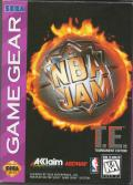 NBA Jam Tournament Edition Game Gear Front Cover