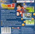 Dragon Ball Z: The Legacy of Goku Game Boy Advance Back Cover