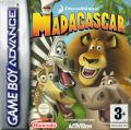 Madagascar Game Boy Advance Front Cover