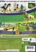 Kinectimals Xbox 360 Back Cover