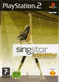 SingStar Legends PlayStation 2 Front Cover