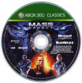 Mass Effect Xbox 360 Media Game disc