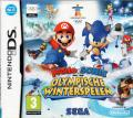 Mario & Sonic at the Olympic Winter Games Nintendo DS Front Cover