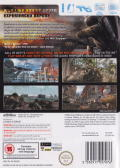 Call of Duty: World at War Wii Back Cover