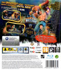 WWE All Stars PlayStation 3 Back Cover