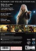 Harry Potter and the Half-Blood Prince PlayStation 2 Back Cover