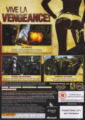 The Saboteur Xbox 360 Back Cover