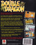 Double Dragon ZX Spectrum Back Cover