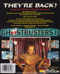 Ghostbusters II ZX Spectrum Back Cover