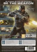 Crysis 2 Windows Back Cover
