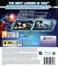 DC Universe Online PlayStation 3 Back Cover