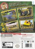 The Amazing Race Wii Back Cover