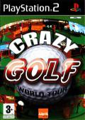 Crazy Golf World Tour PlayStation 2 Front Cover