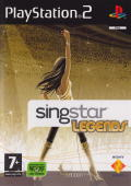 SingStar Legends PlayStation 2 Other Keep Case - Front