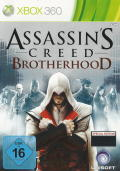 Assassin's Creed: Brotherhood Xbox 360 Front Cover