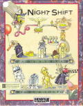 Night Shift DOS Front Cover
