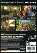 GoldenEye 007: Reloaded Xbox 360 Back Cover
