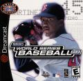 World Series Baseball 2K2 Dreamcast Front Cover