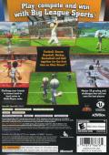 Big League Sports Xbox 360 Back Cover