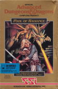 Pool of Radiance DOS Front Cover