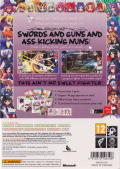 Arcana Heart 3 (Limited Edition) Xbox 360 Back Cover