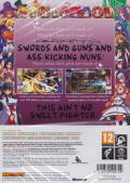 Arcana Heart 3 (Limited Edition) Xbox 360 Other Keep Case - Back