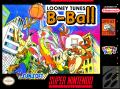 Looney Tunes B-Ball SNES Front Cover