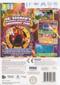 Sonic Colors Wii Back Cover