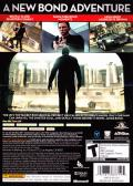 007: Blood Stone Xbox 360 Back Cover