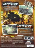 Company of Heroes (Gold Edition) Windows Back Cover