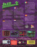 Jazz Jackrabbit 2 Windows Back Cover