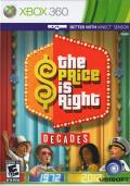The Price is Right: Decades Xbox 360 Front Cover